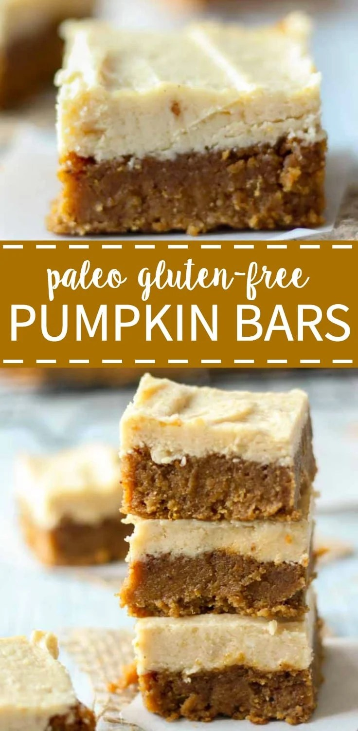 Paleo pumpkin bars what molly made paleo bars aloadofball
