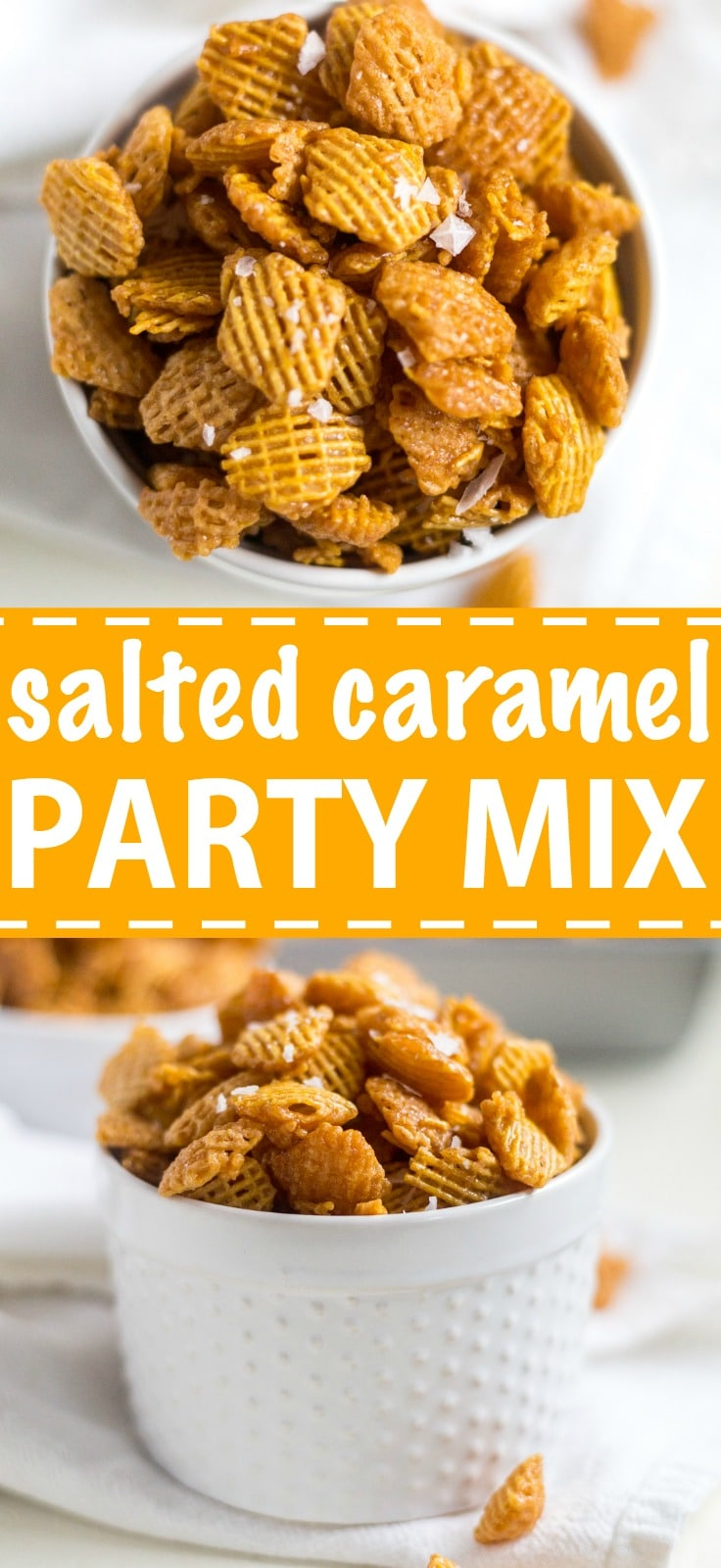 Caramel Crispix Party Mix   What Molly Made