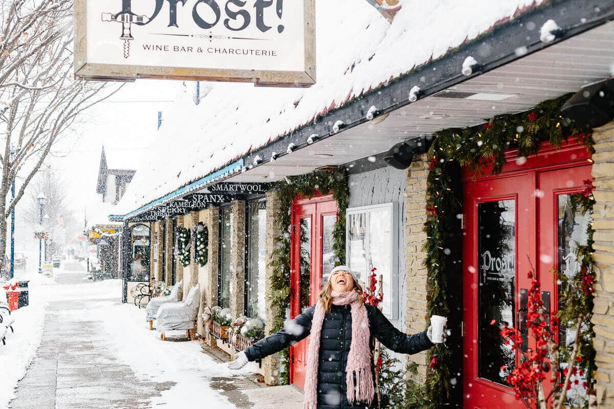 This 24-hour trip to Frankenmuth will give you a full Christmas wonderland experience. It's the perfect day trip with family or friends. You'll get snow, old school carriage rides, comfort food and homemade candy. This weekend getaway does not disappoint.