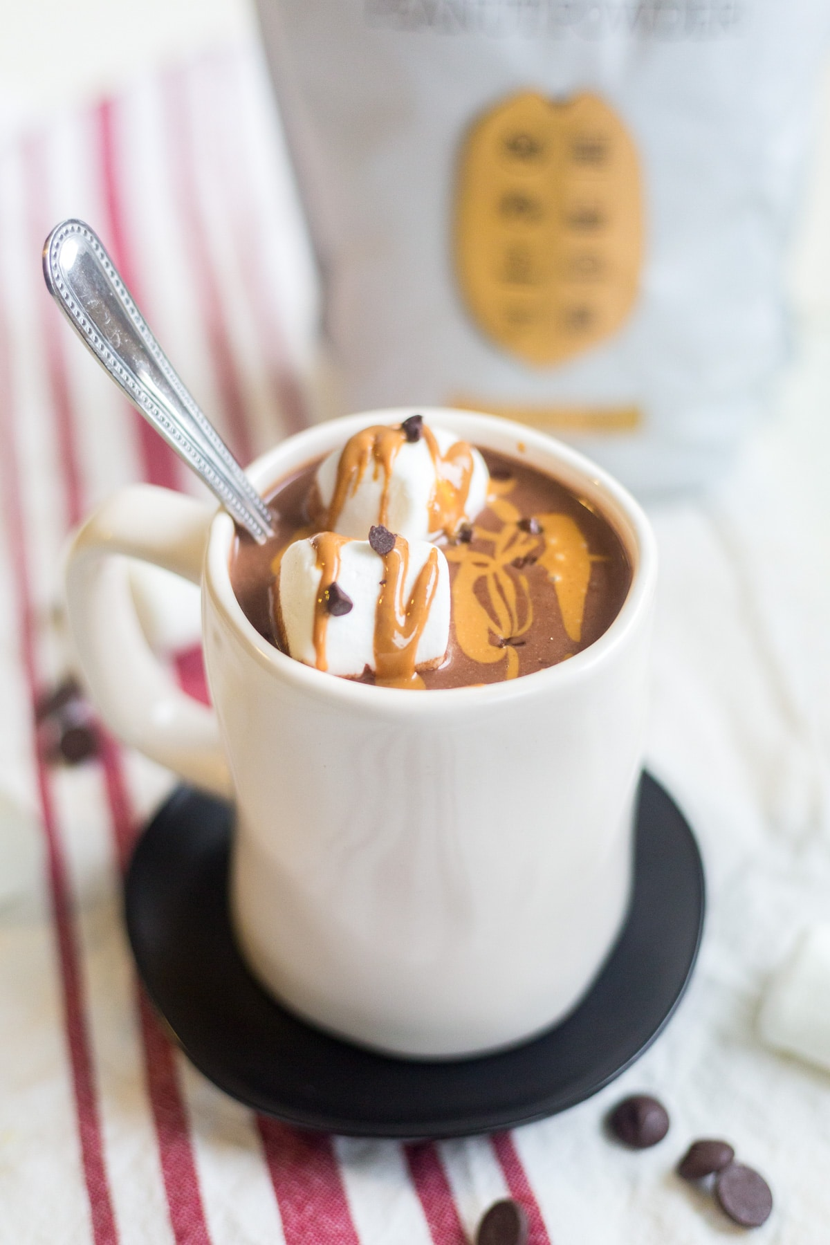 healthy homemade hot chocolate
