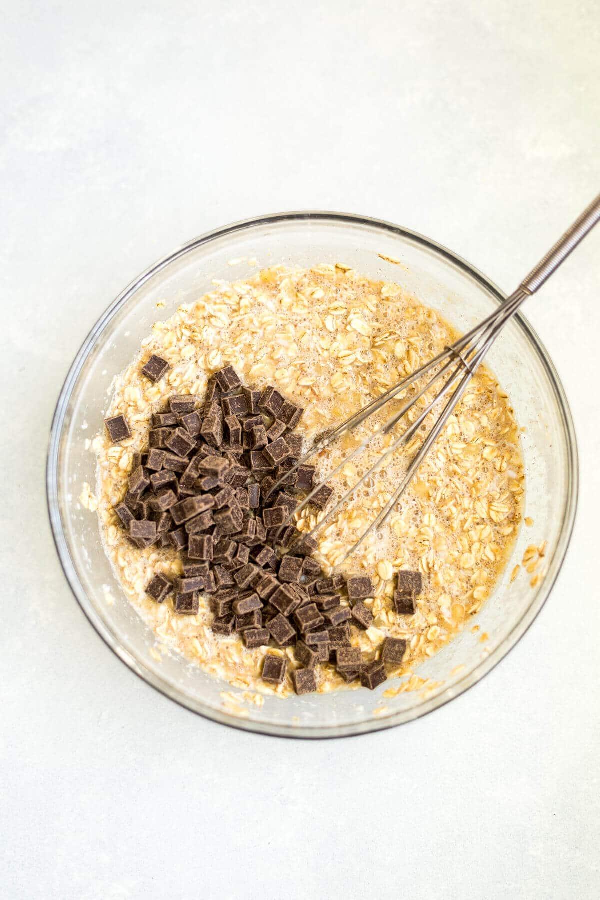 banana baked oatmeal mix
