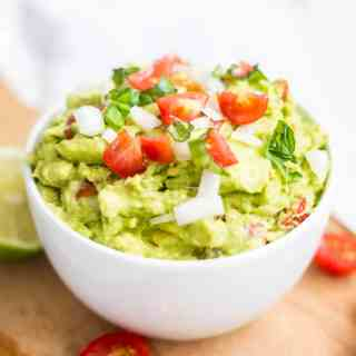 Easy Healthy Guacamole
