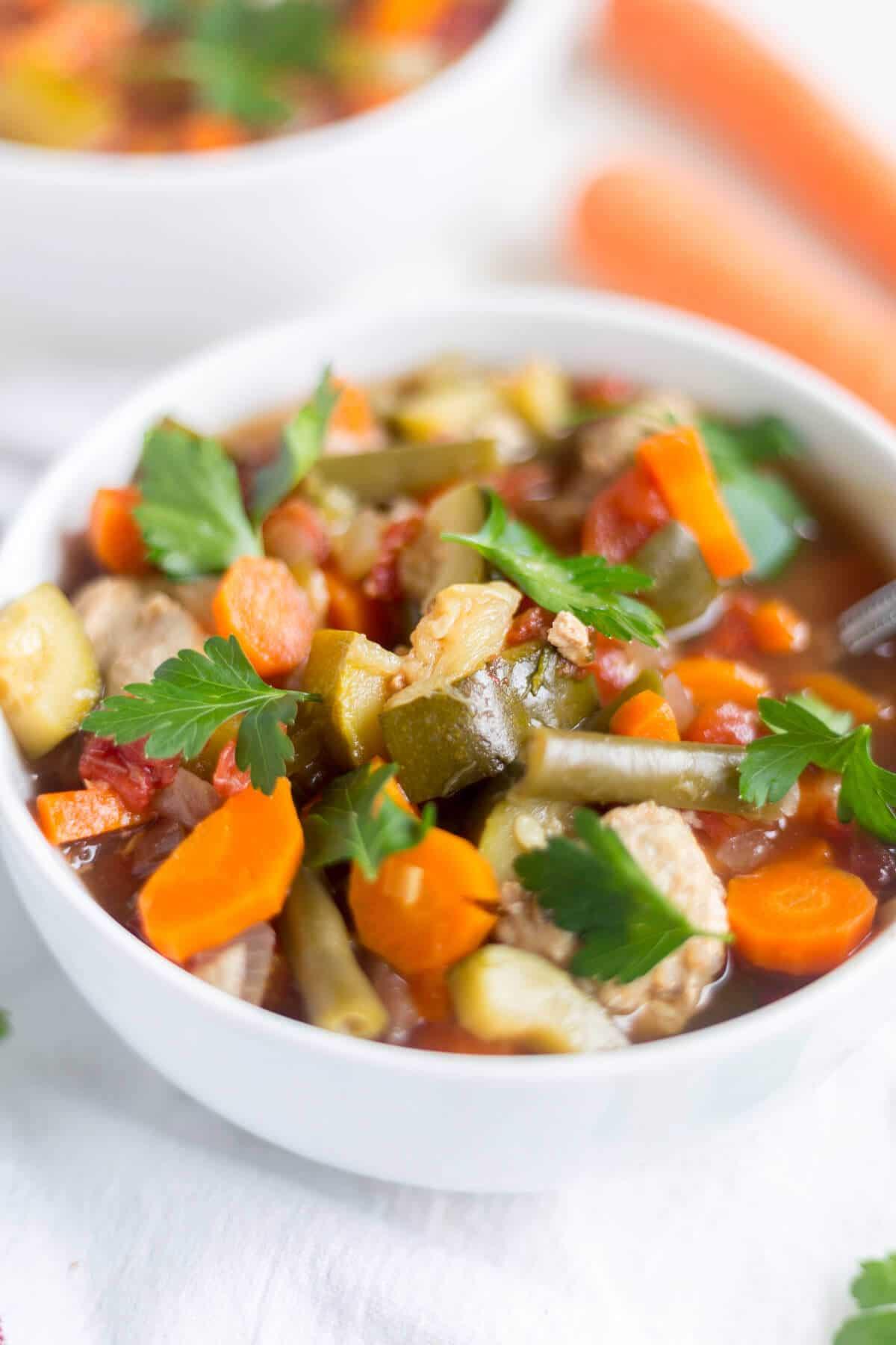 low carb soups