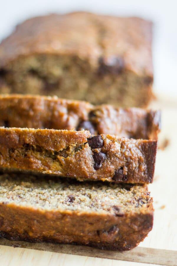 healthy banana bread recipe