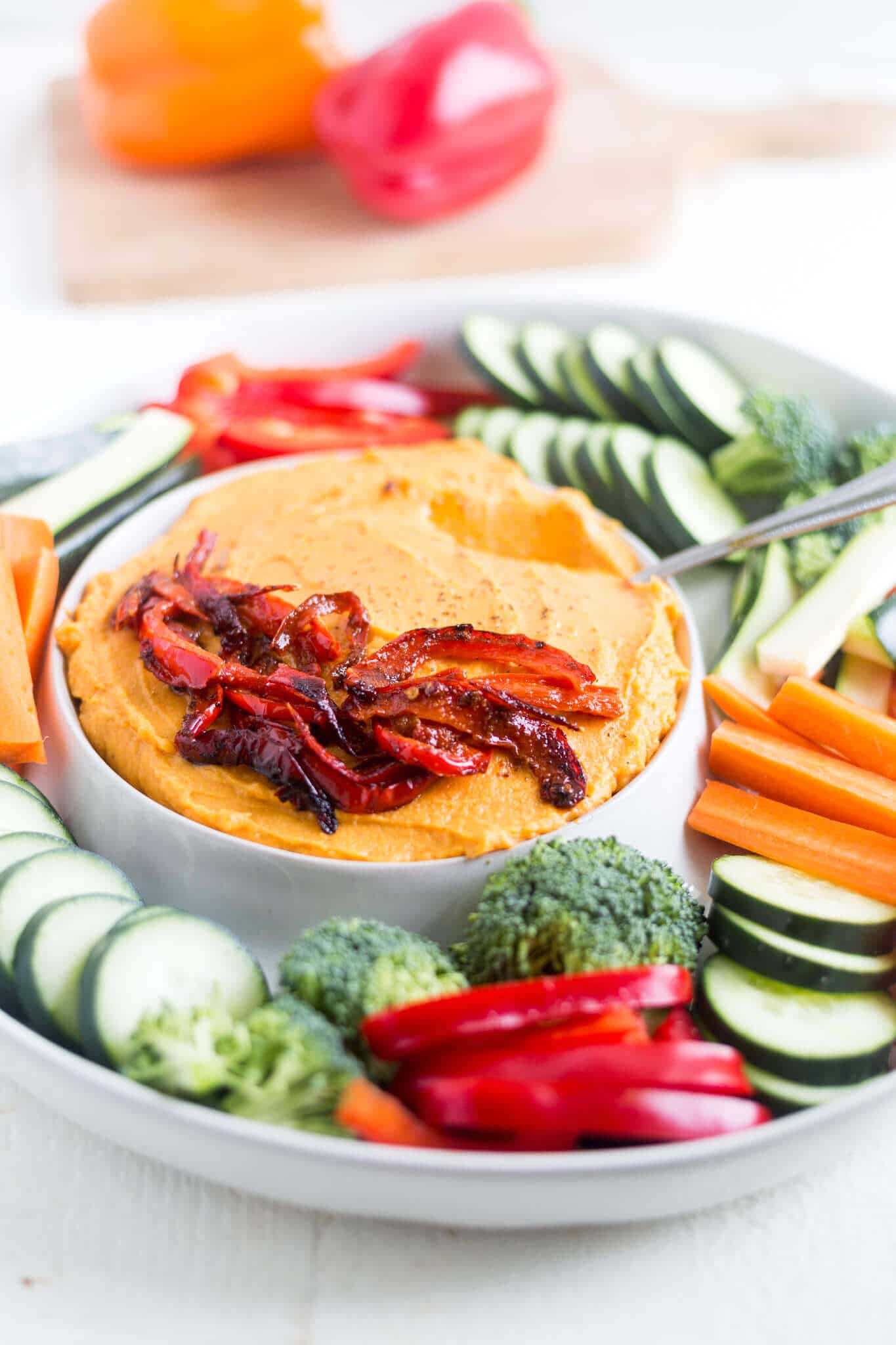 sweet potato hummus without chickpeas