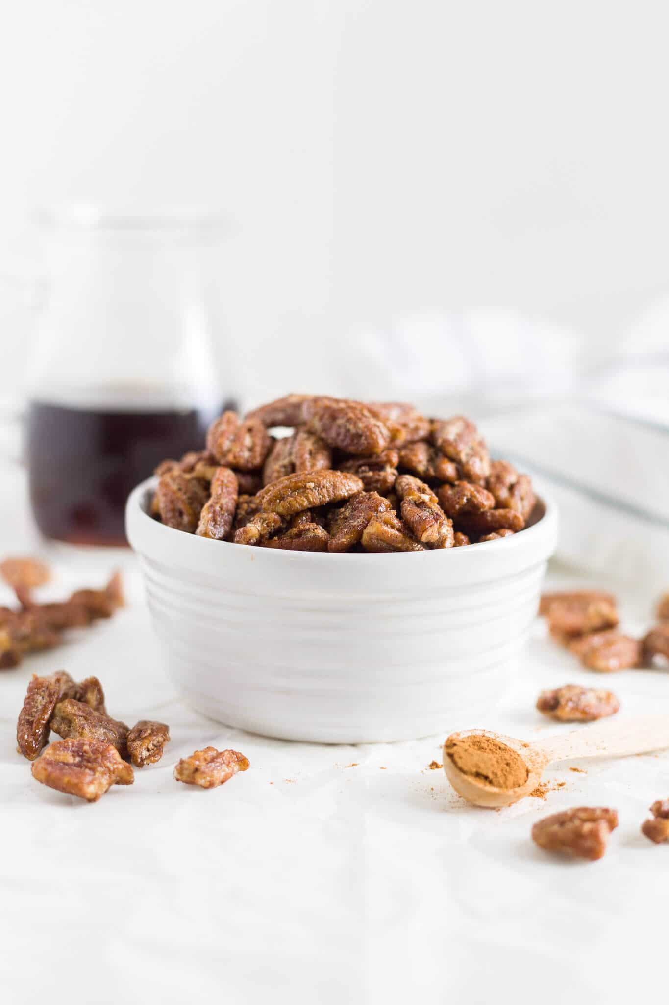 candied pecans for salad