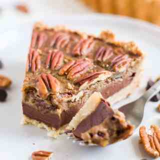 Chocolate Paleo Pecan Pie
