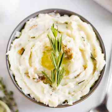 dairy free mashed potatoes