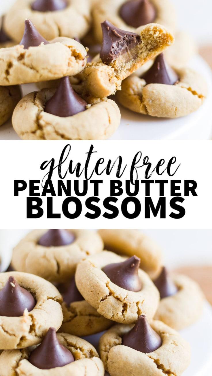 gluten free peanut butter blossoms
