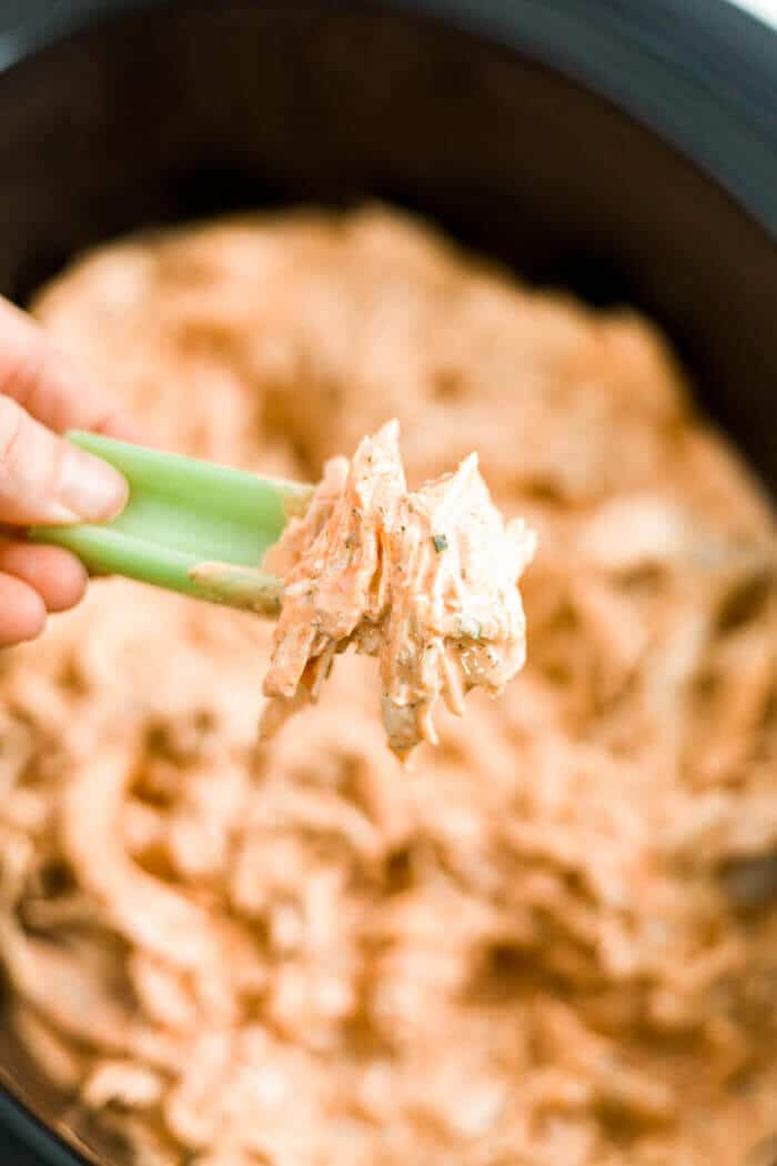 healthy buffalo chicken dip recipe crock pot