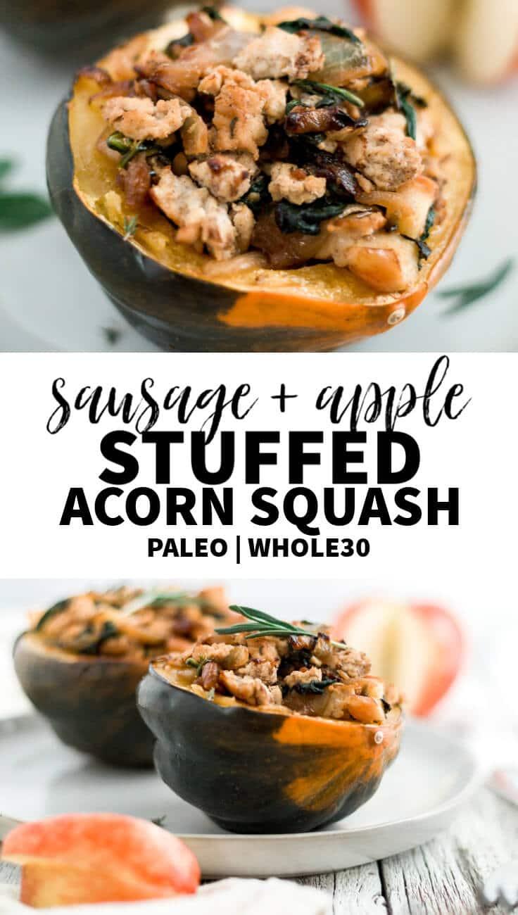 stuffed acorn squash