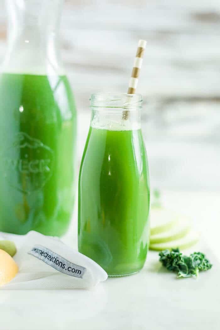 green juice recept