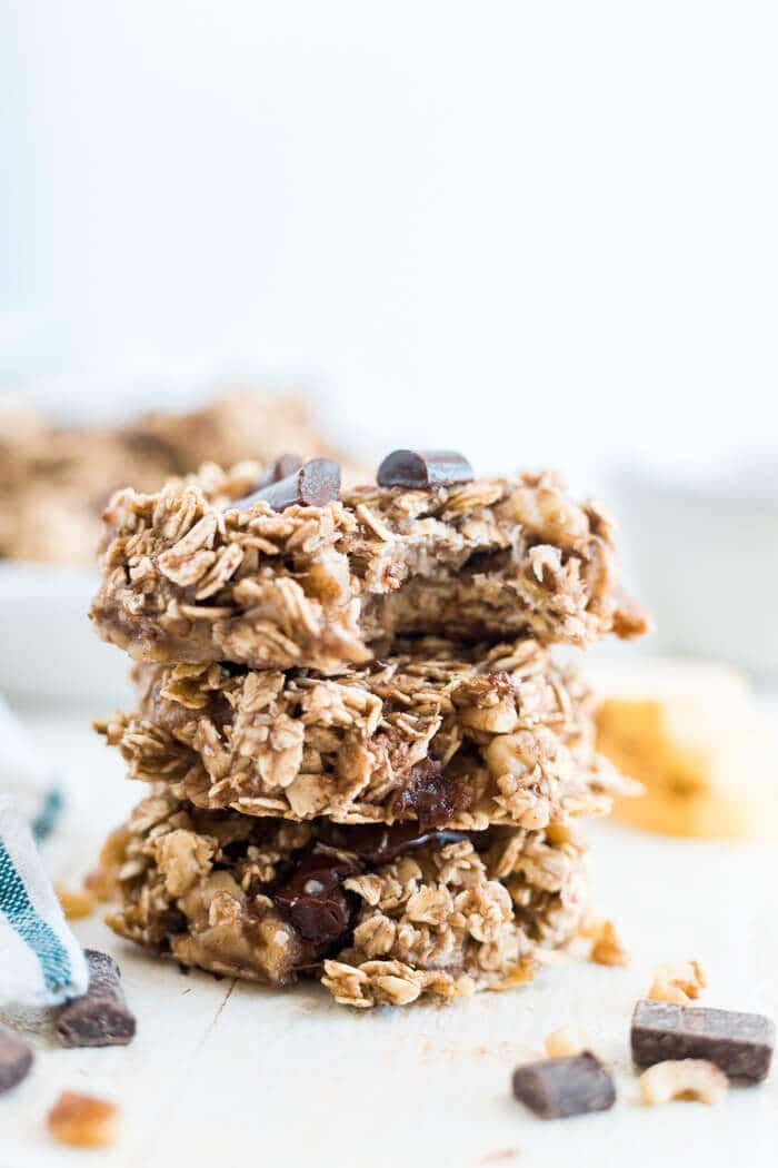 banana and oatmeal cookies