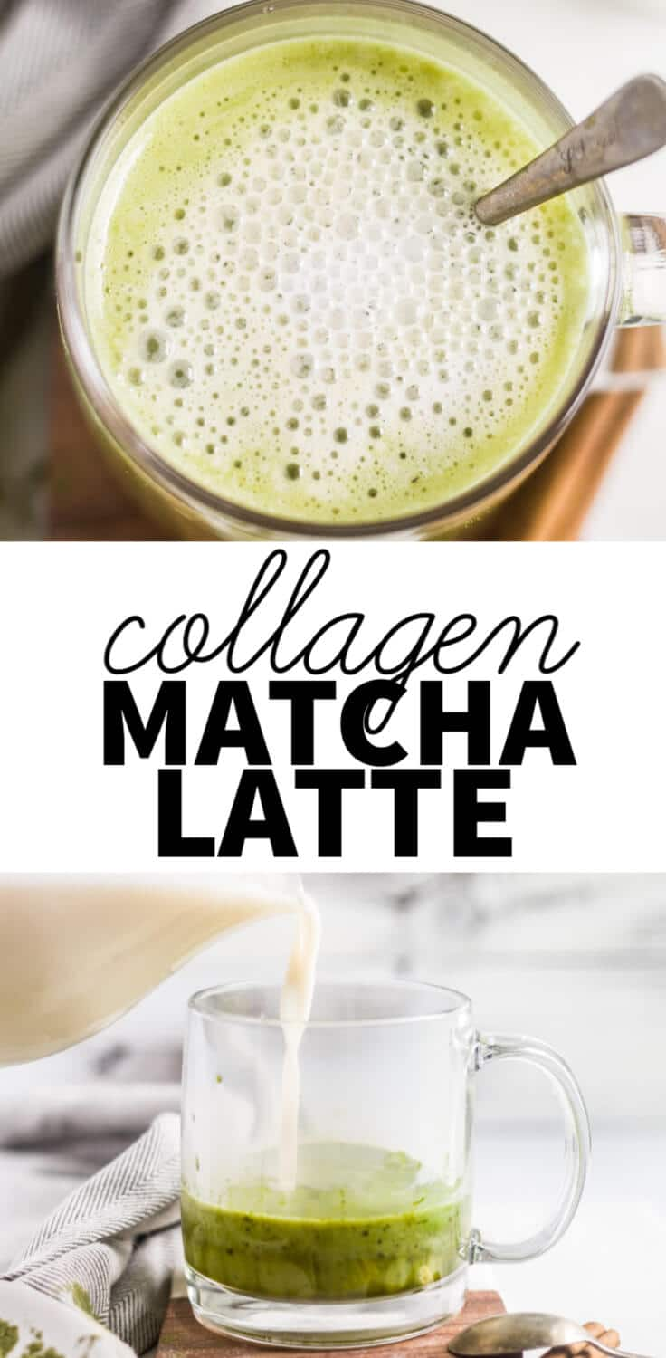 collagen matcha latte