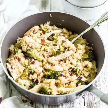 chicken broccoli quinoa