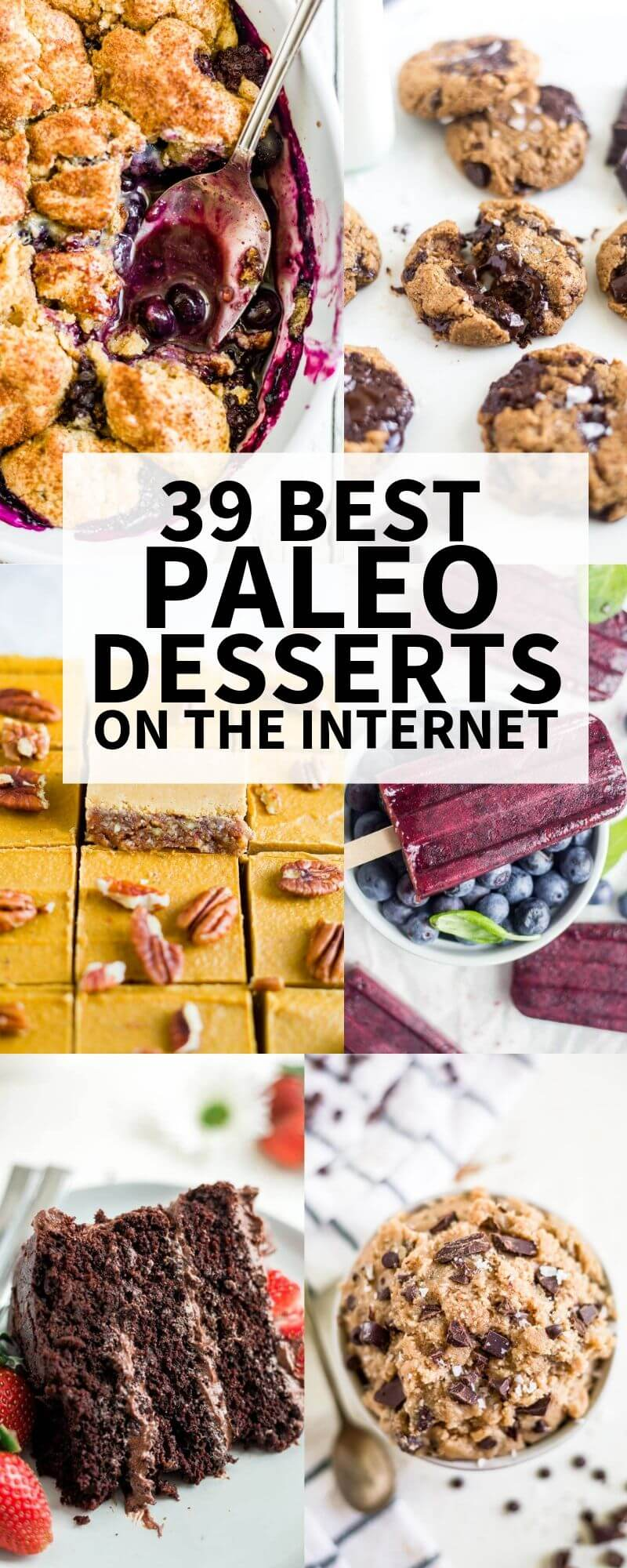39 Best Paleo Desserts on the Internet | What Molly Made