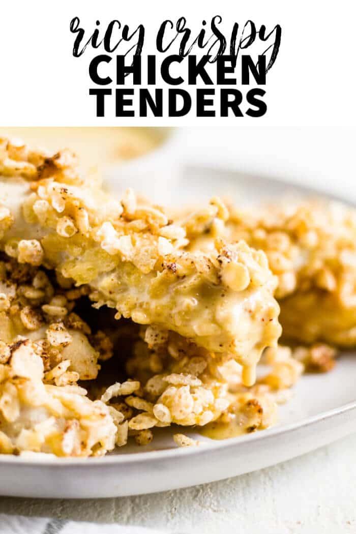 rice crispy chicken tenders