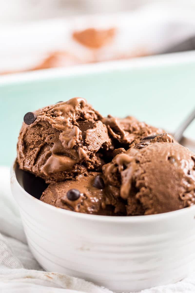 frozen banana chocolate ice cream