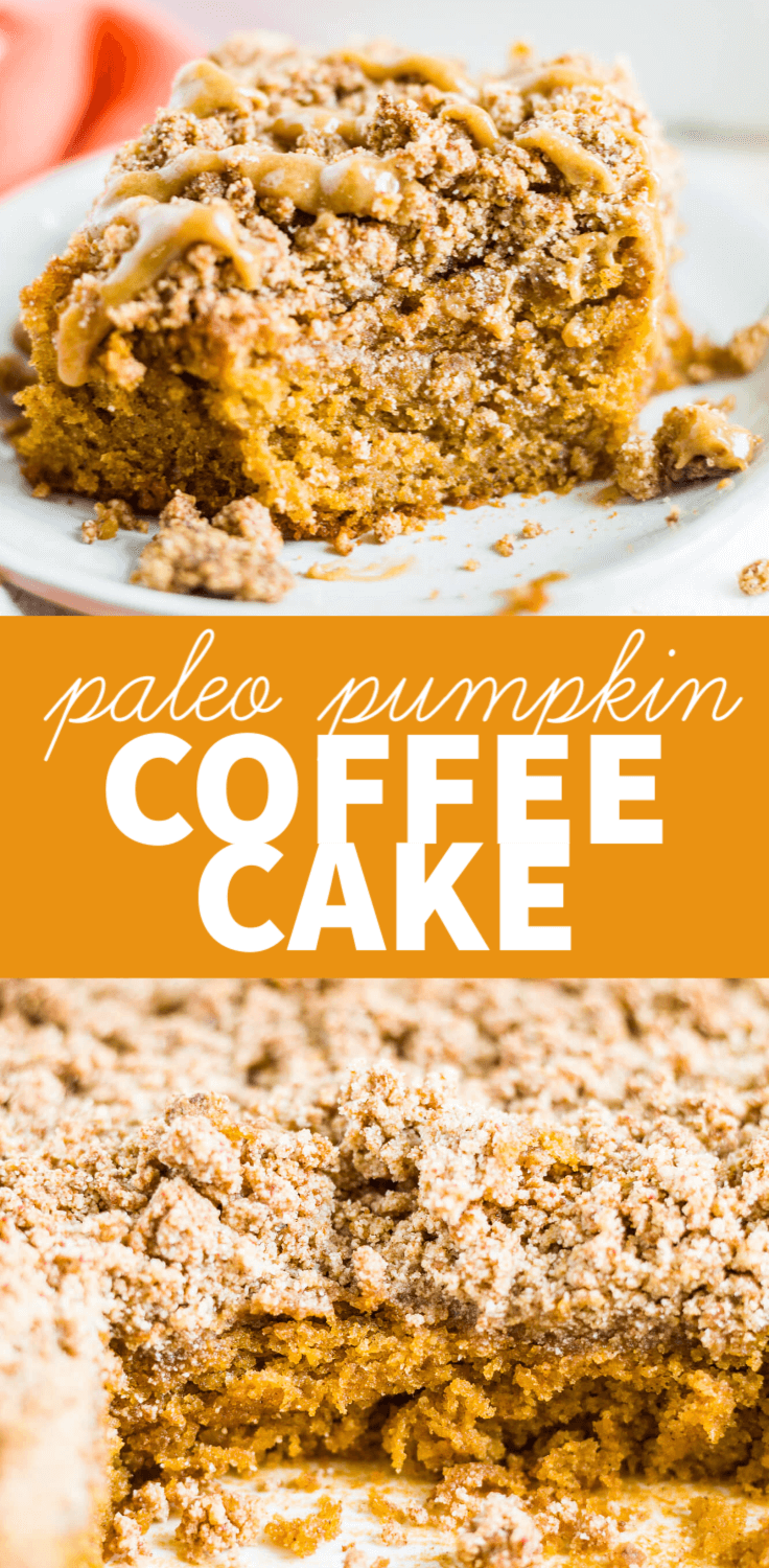 paleo pumpkin coffee cake