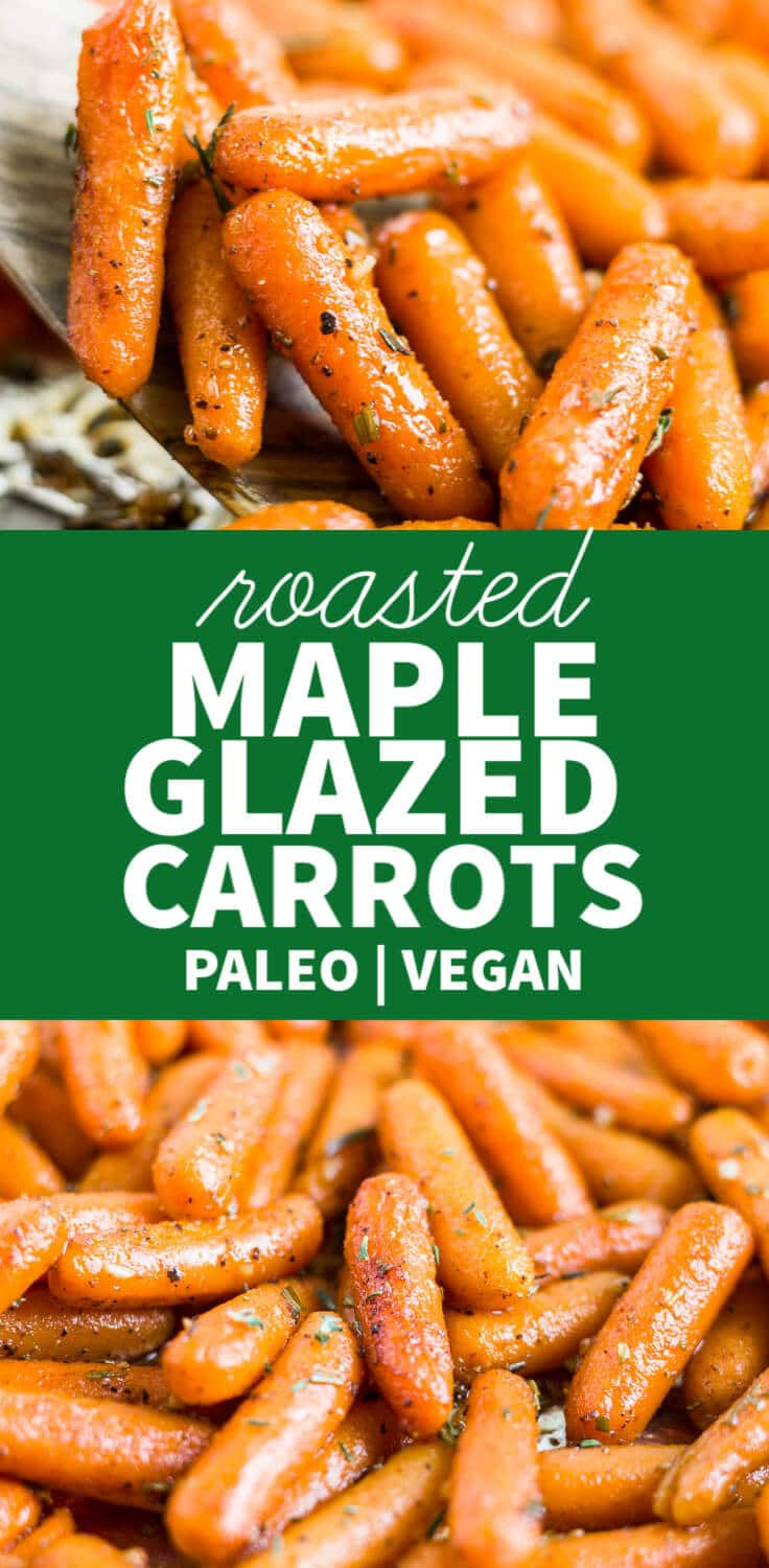maple glazed carrots recipe