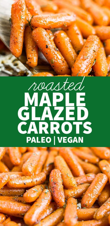 maple glazed carrots recipe
