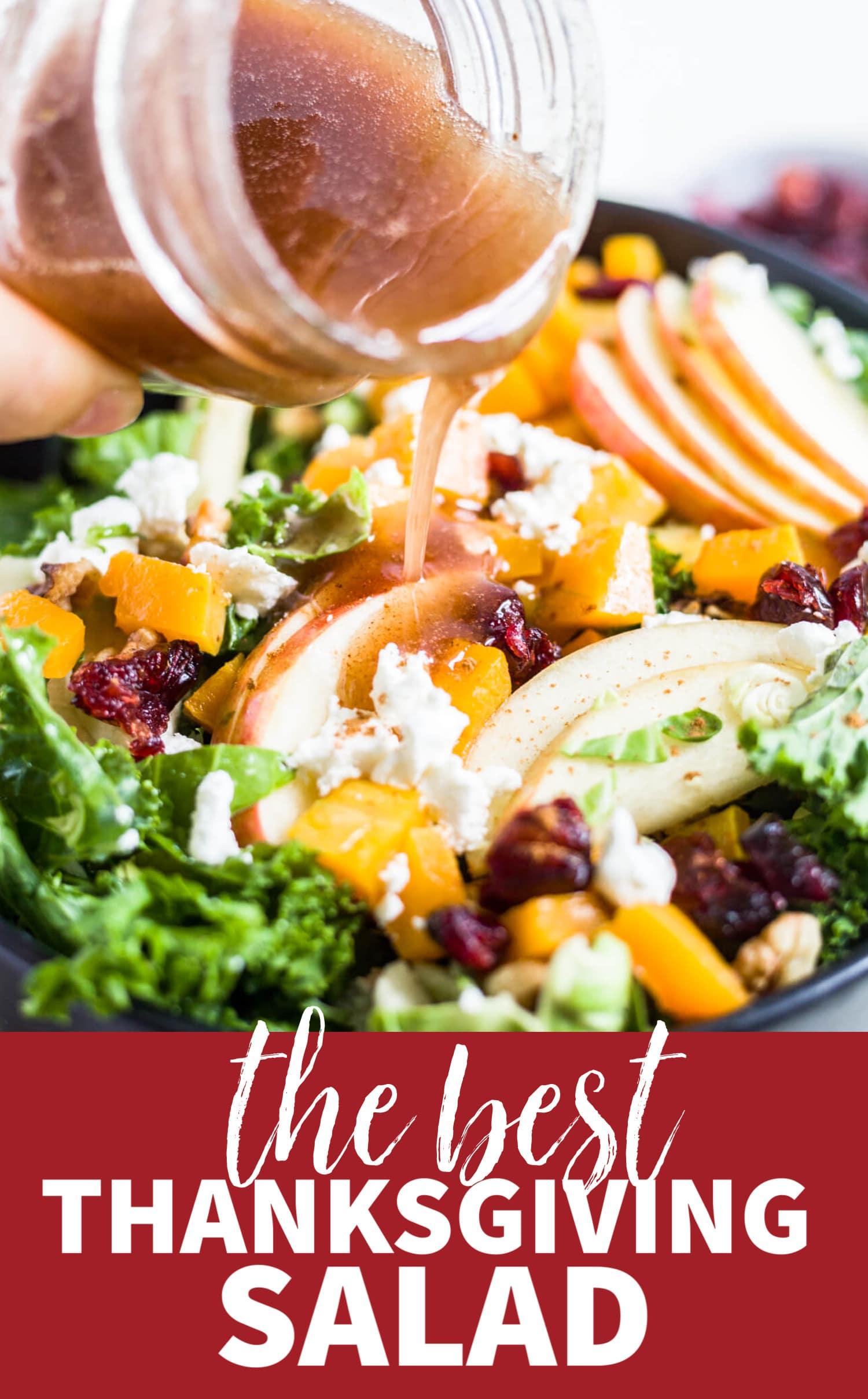healthy thanksgiving salad recipe