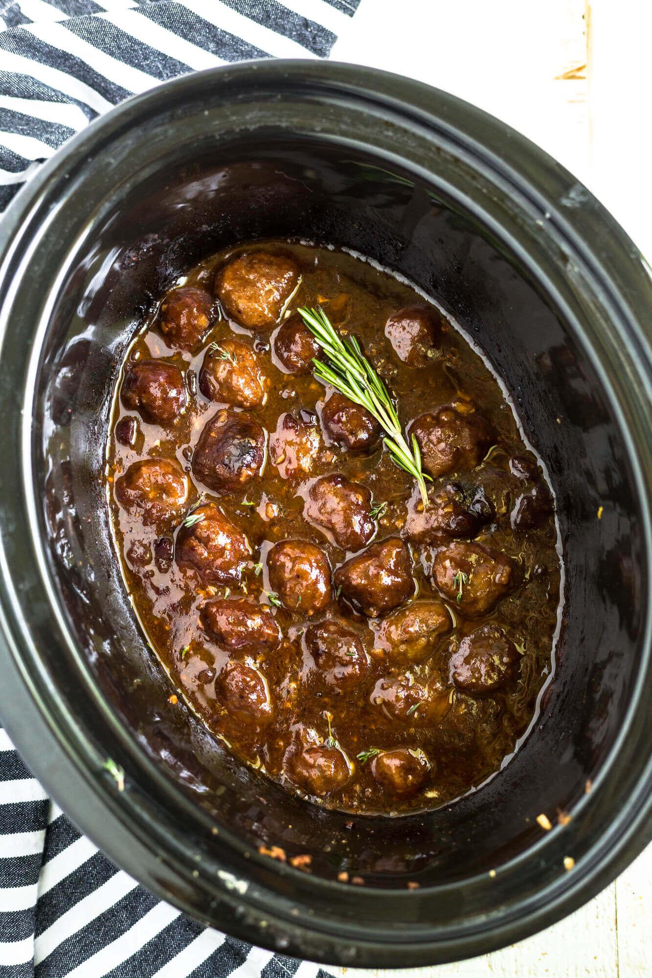 cranberry sauce meatballs