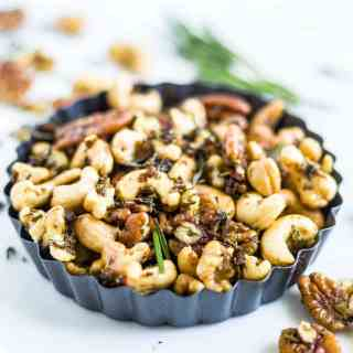 rosemary spiced nuts