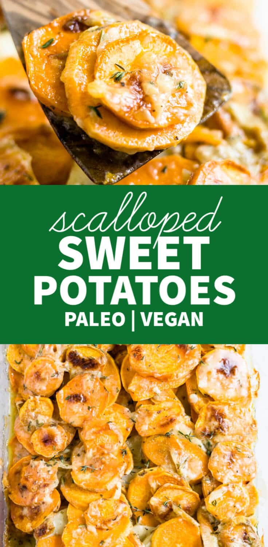 easy scalloped sweet potatoes recipe