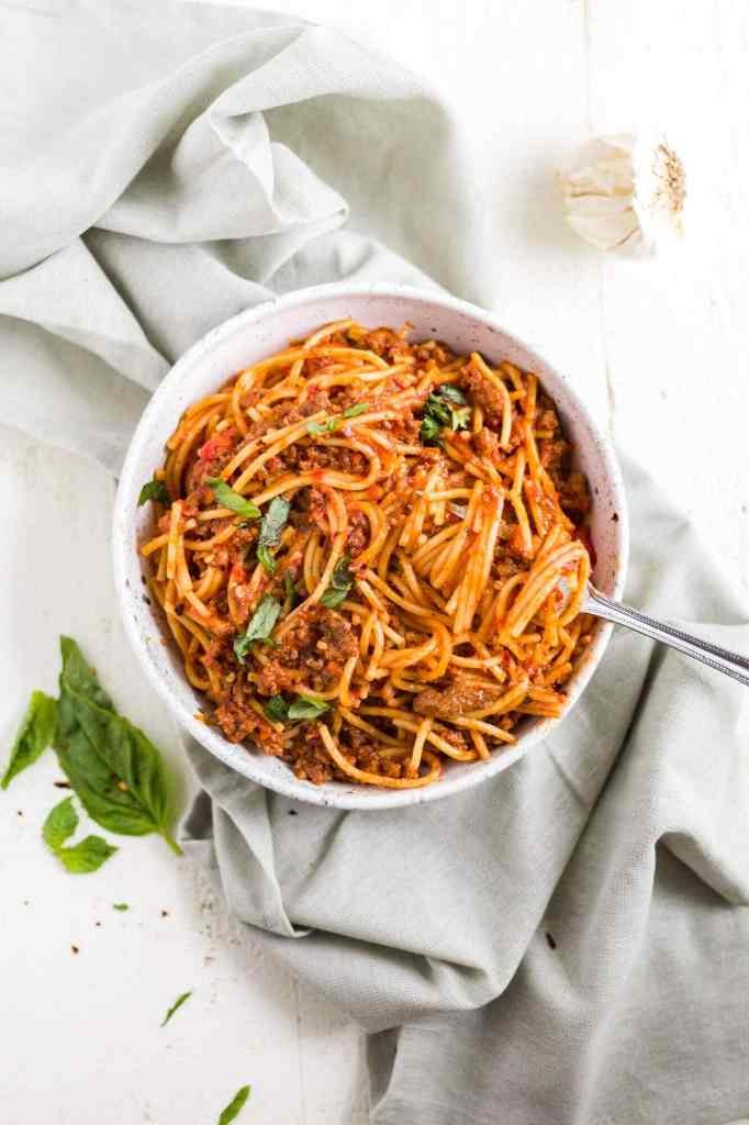 instant pot spaghetti gluten free  what molly made