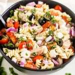 Easy Italian Pasta Salad [Gluten Free]