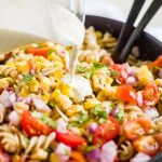 Mexican Street Corn Pasta Salad [Dairy Free]