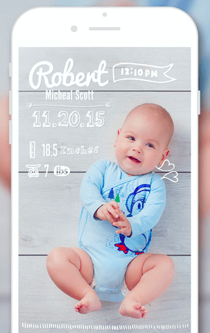 Baby Story app screengrab