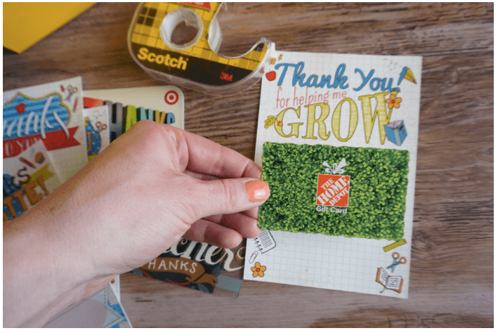 Teacher Gift Card Printables - Hardware Store