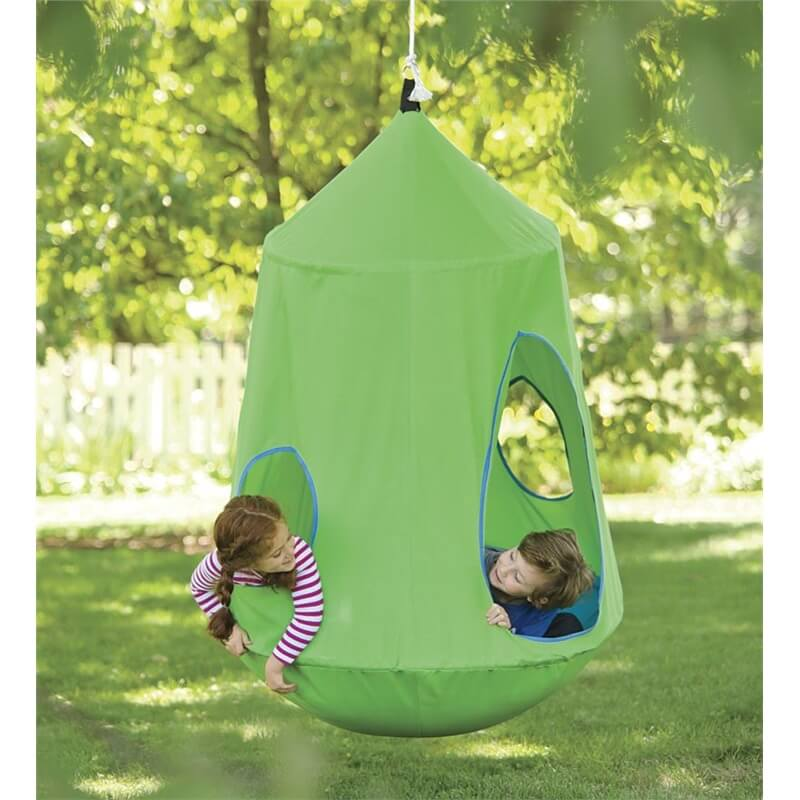 Cool Outdoor Swings & Hide-outs for Kids - HugglePod HangOut