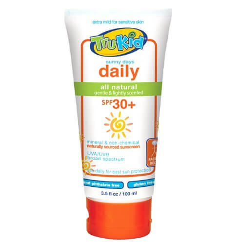 Top Safe Sunscreens. TruKid SunnyDays SPORT Sunscreen