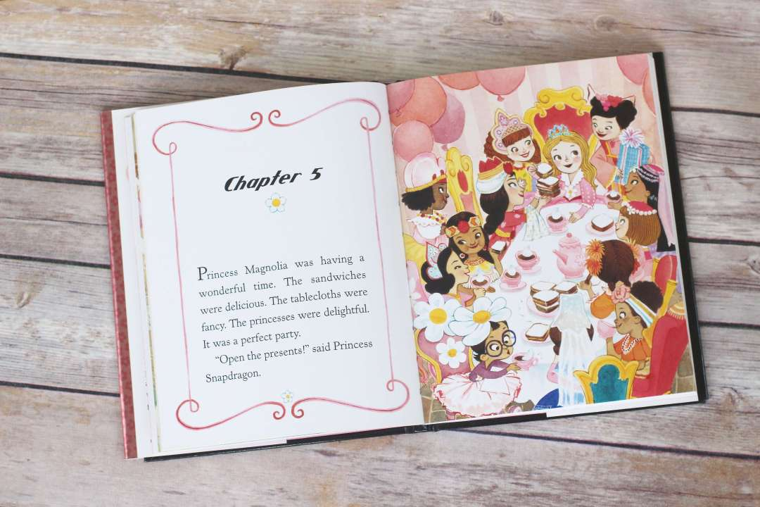 The Princess in Black Illustrations Inside Book. First Chapter Book to Read Aloud to your preschooler or kindergartener