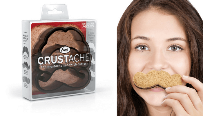 Products to Make Eating Fun for Kids. How to Get Picky Eaters to Try New Foods. Crustache Mustache Shaped Sandwich Cutter Fred & Friends.