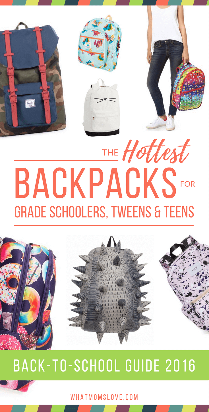 Cool Backpacks for Tween and Teens - Back to School Guide