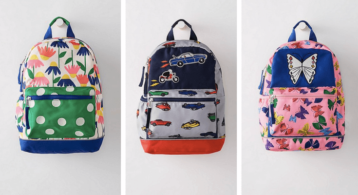 Hanna Andersson Backpacks small - Best Preschool Toddler Backpacks for back to school