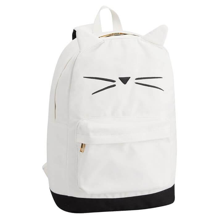 Pottery Barn Teen Cat Backpack