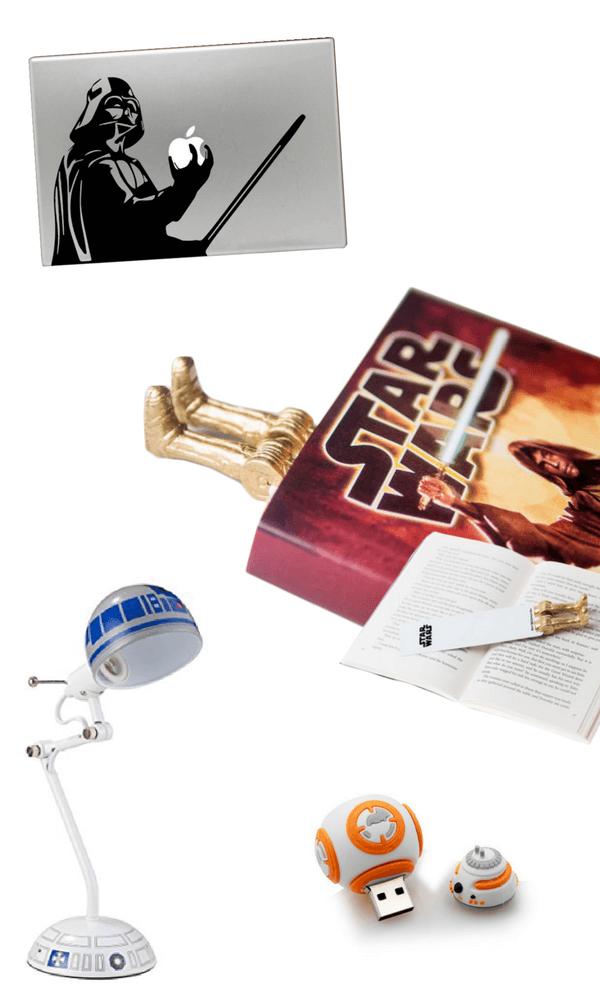 Star Wars cool homework station supplies for kids back-to-school