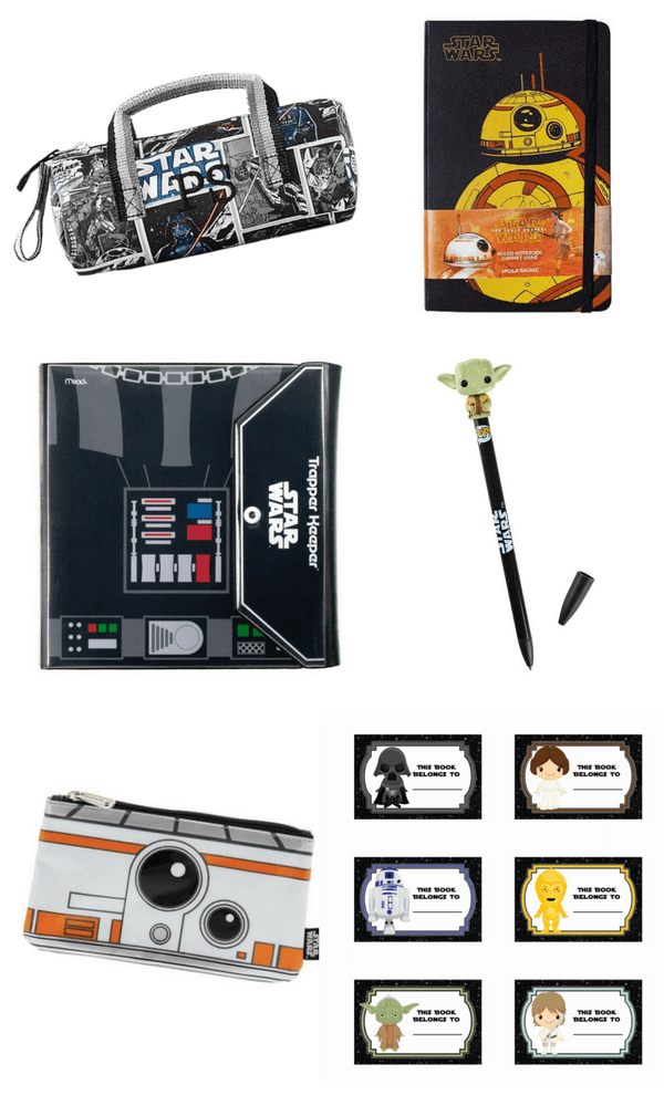 Star Wars cool school supplies for back-to-school