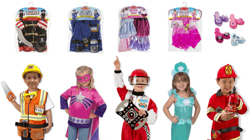 Best Non-Toy Gifts for Kids - Dress-up Clothes