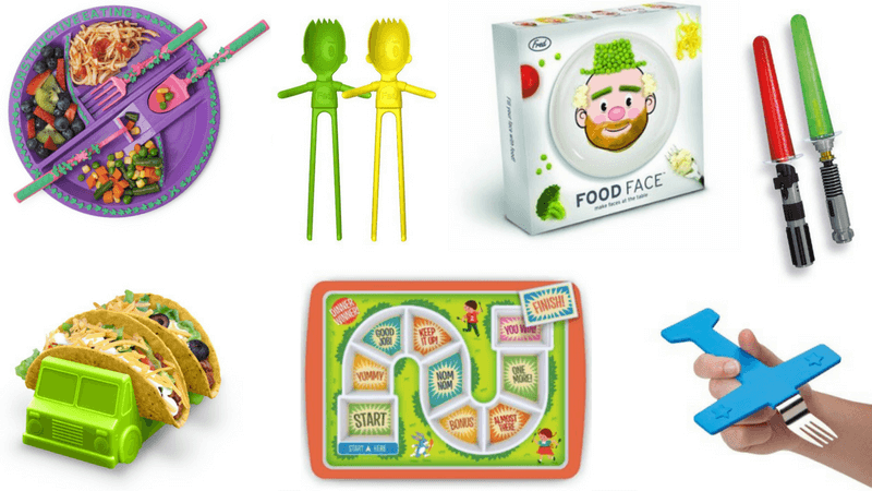 Best Non-Toy Gifts for Kids - Hobbies & Interests - Eating Utensils and Plates