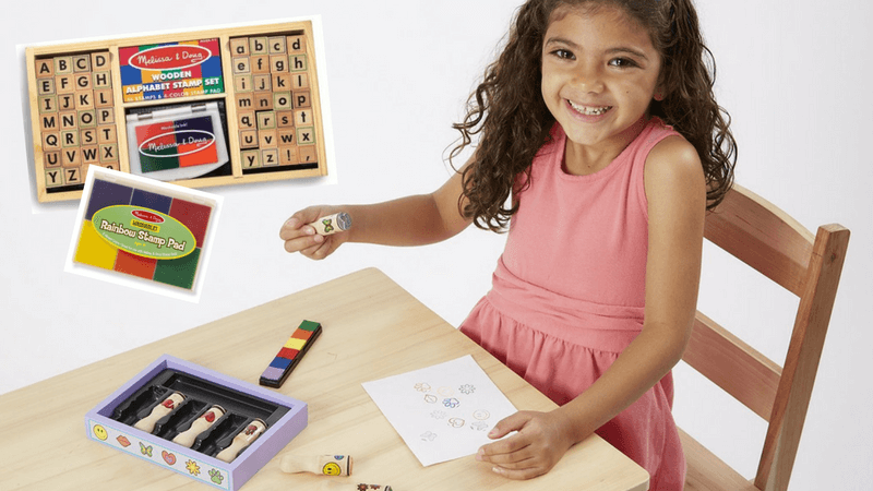 Best Non-Toy Gifts for Kids - Hobbies & Interests - Stamp Sets