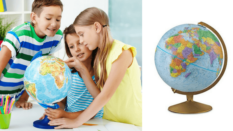 Best Non-Toy Gift Guide for Kids - globe