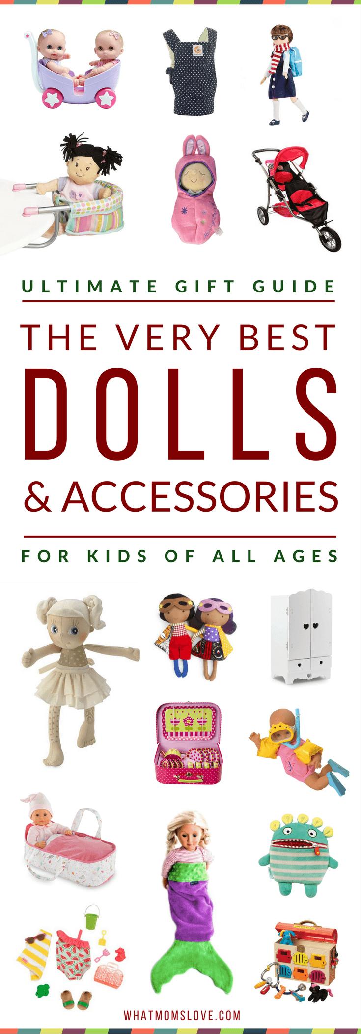 Gift Guide Best Toys for Doll Lovers - PINTEREST