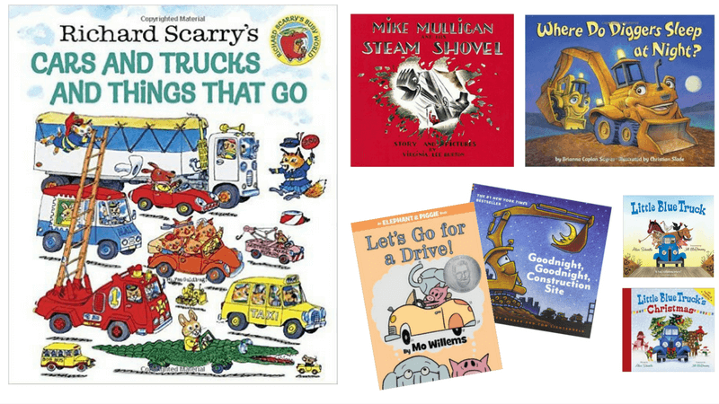Best Vehicle Books for Kids | Gift Ideas For Car, Truck, Machine and Construction Lovers | Best Books For Boys