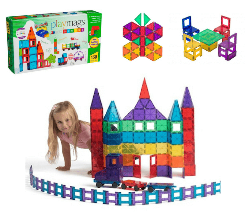 Best Building Toys For Kids | Gift Ideas For Kids Who Like To Build | Magnatiles vs Playmags